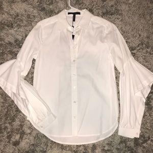 Thelma BCBGMAXAZRIA button down shirt